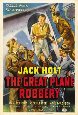 The Great Plane Robbery movie poster (1940) poster MOV_774bab4b