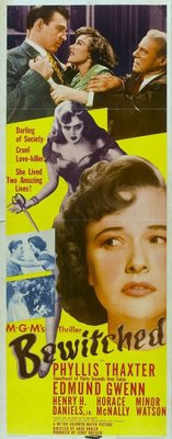 Bewitched movie poster (1945) poster MOV_77601580