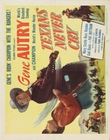 Texans Never Cry movie poster (1951) picture MOV_7763c61a