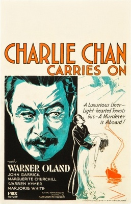 Charlie Chan Carries On movie poster (1931) poster MOV_776f1b3a