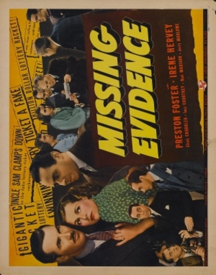 Missing Evidence movie poster (1939) poster MOV_779345bf