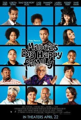 Madea's Big Happy Family movie poster (2011) poster MOV_77938cd7