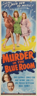 Murder in the Blue Room movie poster (1944) poster MOV_779f0966