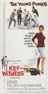 Key Witness movie poster (1960) poster MOV_77a34b11