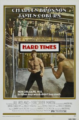 Hard Times movie poster (1975) poster MOV_77b60685