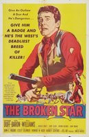 The Broken Star movie poster (1956) picture MOV_77c12bef