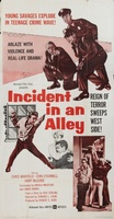 Incident in an Alley movie poster (1962) picture MOV_77c95aa1