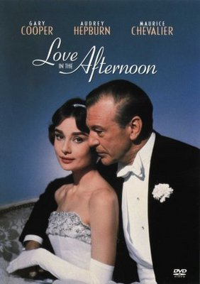 Love in the Afternoon movie poster (1957) poster MOV_77cc486e