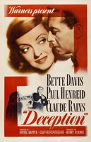 Deception movie poster (1946) picture MOV_77d2e4d0