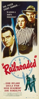 Railroaded! movie poster (1947) poster MOV_77d722bf