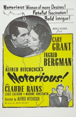 Notorious movie poster (1946) poster MOV_77d91b5b