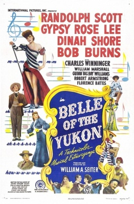 Belle of the Yukon movie poster (1944) poster MOV_77dccbed