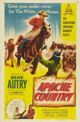 Apache Country movie poster (1952) poster MOV_77e3210e