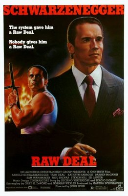 Raw Deal movie poster (1986) poster MOV_77e94848
