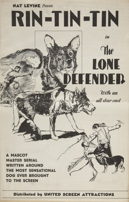 The Lone Defender movie poster (1930) poster MOV_780dc0ae