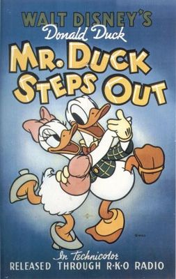 Mr. Duck Steps Out movie poster (1940) poster MOV_7819dd38