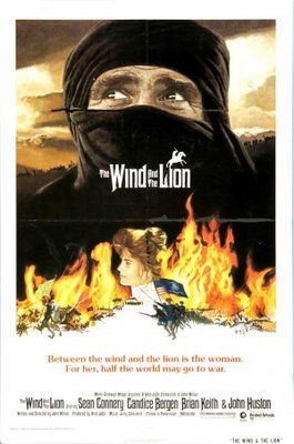 The Wind and the Lion movie poster (1975) poster MOV_78618ac0