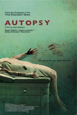 Autopsy movie poster (2008) poster MOV_787c024e