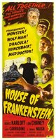 House of Frankenstein movie poster (1944) picture MOV_789089f6
