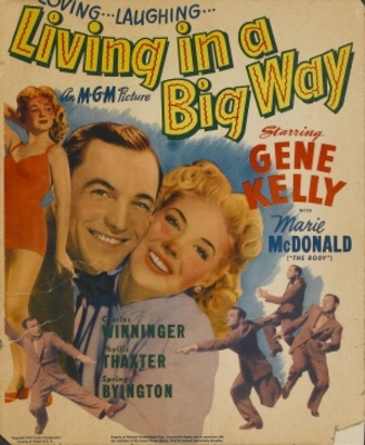 Living in a Big Way movie poster (1947) poster MOV_7897a1a6