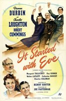 It Started with Eve movie poster (1941) picture MOV_78a6d6f8