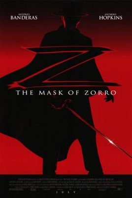 The Mask Of Zorro movie poster (1998) poster MOV_78ac1189