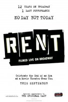 Rent: Filmed Live on Broadway movie poster (2008) picture MOV_78bbf0ee