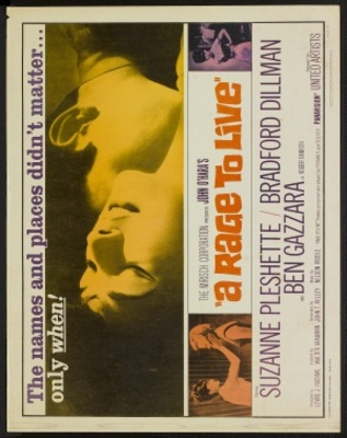 A Rage to Live movie poster (1965) poster MOV_78cad261