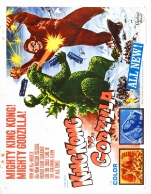 King Kong Vs Godzilla movie poster (1962) poster MOV_78d3d217