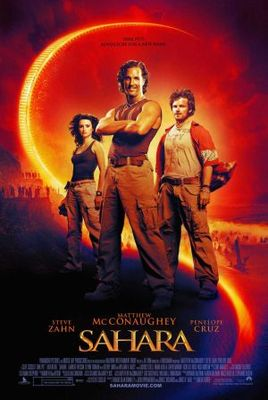 Sahara movie poster (2005) poster MOV_78e8e965
