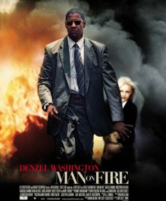 Man On Fire movie poster (2004) poster MOV_78f7ed44