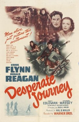 Desperate Journey movie poster (1942) poster MOV_794ae6d0