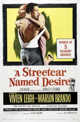 A Streetcar Named Desire movie poster (1951) poster MOV_7952e54f