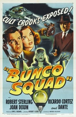 Bunco Squad movie poster (1950) poster MOV_795723c4