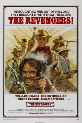 The Revengers movie poster (1972) poster MOV_795b35ad