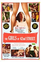 Fleshpot on 42nd Street movie poster (1973) picture MOV_796db4e1
