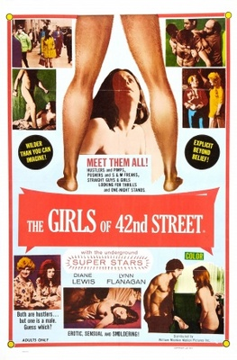 Fleshpot on 42nd Street movie poster (1973) poster MOV_796db4e1