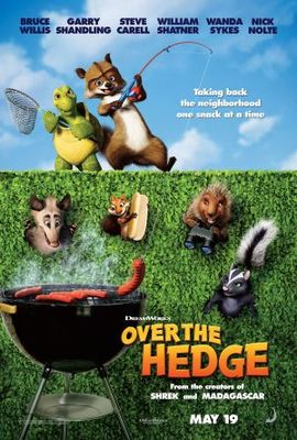 Over The Hedge movie poster (2006) poster MOV_79abc0c0