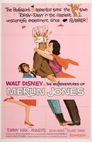 The Misadventures of Merlin Jones movie poster (1964) picture MOV_79b12989
