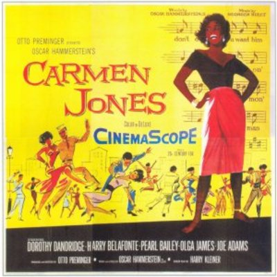 Carmen Jones movie poster (1954) poster MOV_79b40367