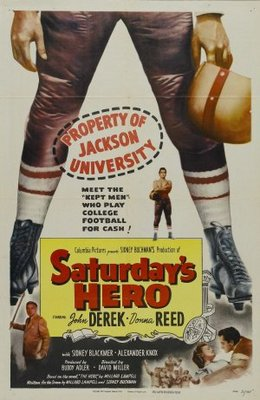 Saturday's Hero movie poster (1951) poster MOV_79bea6e1