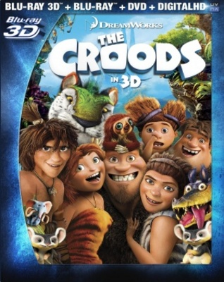 The Croods movie poster (2013) poster MOV_79c910d4