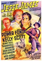 Jesse James movie poster (1939) picture MOV_79d9ce55