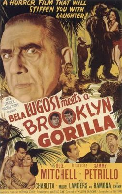 Bela Lugosi Meets a Brooklyn Gorilla movie poster (1952) poster MOV_79da0583