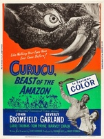 Curucu, Beast of the Amazon movie poster (1956) picture MOV_79e9cc89