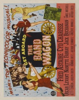 The Band Wagon movie poster (1953) poster MOV_7a07ac92