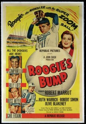 Roogie's Bump movie poster (1954) poster MOV_7a0c20ca