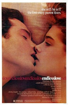 Endless Love movie poster (1981) poster MOV_7a0cd032
