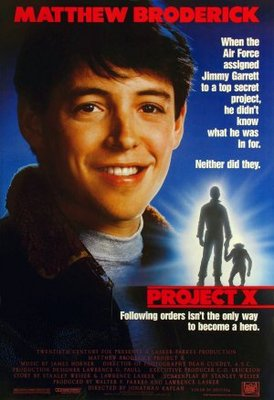 Project X movie poster (1987) poster MOV_7a0ec047