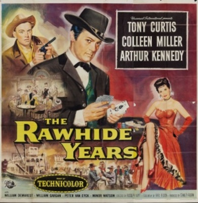 The Rawhide Years movie poster (1955) poster MOV_7a2f539f